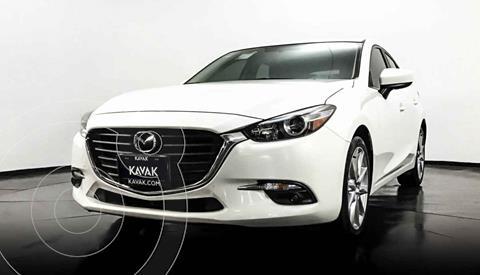 Mazda 3 Hatchback s  Aut usado (2017) color Blanco precio $274,999