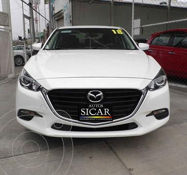 Mazda 3 Hatchback i Touring Aut usado (2018) color Blanco precio $259,000