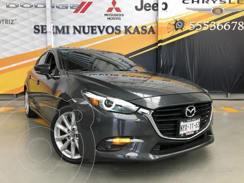 Mazda 3 Hatchback s Grand Touring Aut usado (2018) color Gris Oscuro precio $289,000