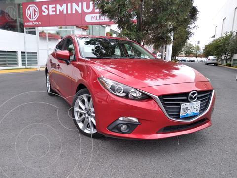 Mazda 3 Hatchback s  Aut usado (2016) color Rojo precio $220,000