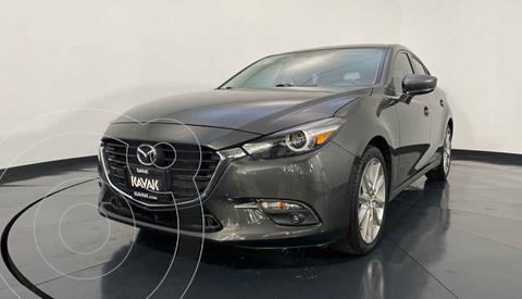 Mazda 3 Hatchback s  Aut usado (2017) color Gris precio $297,999
