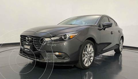 Mazda 3 Hatchback s  Aut usado (2017) color Gris precio $299,999