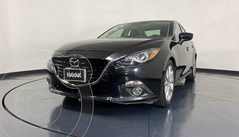 Mazda 3 Hatchback s  usado (2015) color Negro precio $202,999