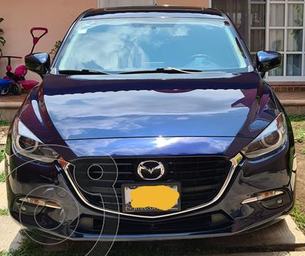 Mazda 3 Hatchback s Grand Touring Aut usado (2018) color Azul Marino precio $265,000