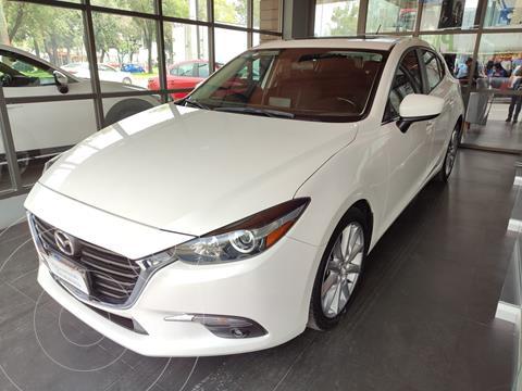Mazda 3 Hatchback s usado (2018) color Blanco Perla precio $274,000