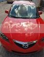 Foto venta Auto usado Mazda 3 Sedan i (2008) color Rojo Autentico precio $88,000