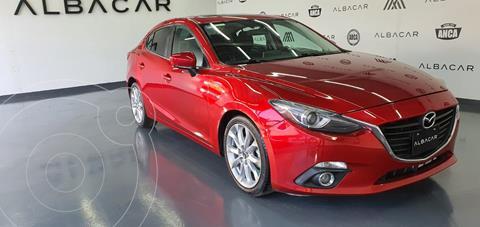 Mazda 3 Sedan s Grand Touring Aut usado (2016) color Rojo precio $249,900