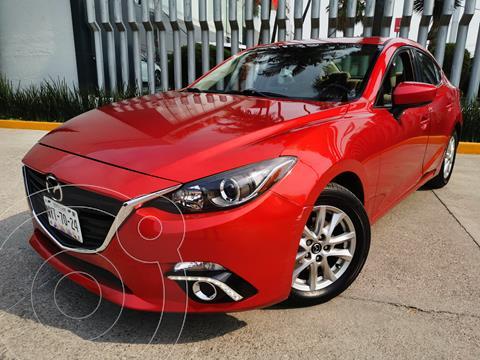Mazda 3 Sedan i Touring Aut usado (2016) color Rojo precio $210,000