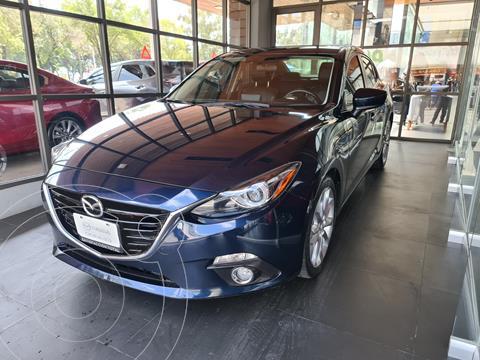 Mazda 3 Sedan s Grand Touring Aut usado (2016) color Azul Marino precio $258,000