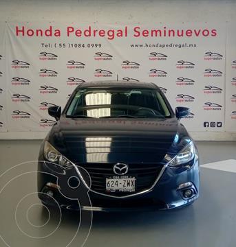 Mazda 3 Sedan i Sport usado (2015) color Azul precio $189,000