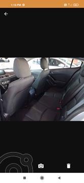 Mazda 3 Sedan s Aut usado (2018) color Plata Sonic precio $272,000