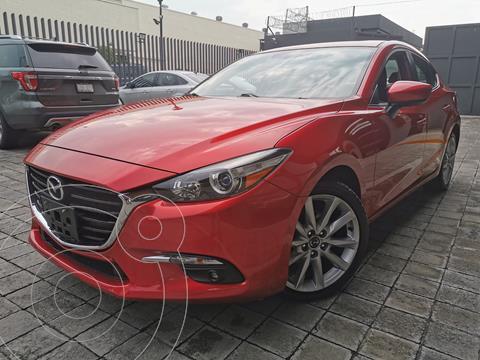 Mazda 3 Sedan s Aut usado (2017) color Rojo precio $233,000