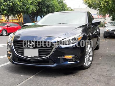 Mazda 3 Sedan s usado (2017) color Azul Marino precio $172,900