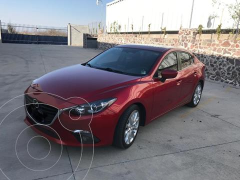 Mazda 3 Sedan s Grand Touring Aut usado (2015) color Rojo precio $218,000