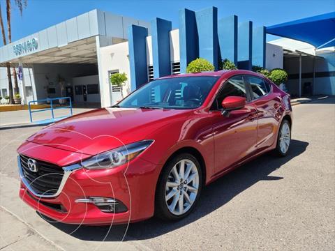 Mazda 3 Sedan s Grand Touring Aut usado (2017) color Rojo precio $260,000