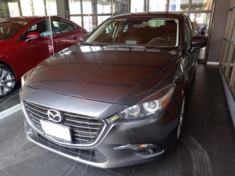 Mazda 3 Sedan s Aut usado (2017) color Gris Meteoro precio $210,000