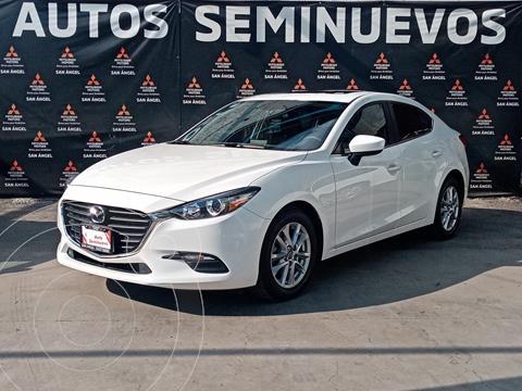 Mazda 3 Sedan i Touring usado (2018) color Blanco Perla precio $260,000