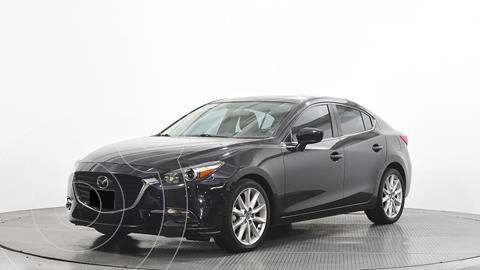 Mazda 3 Sedan s usado (2017) color Negro precio $275,000