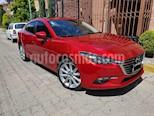 Mazda 3 Sedan s usado (2017) color Rojo precio $239,000