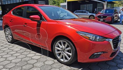 Mazda 3 Sedan s Aut usado (2017) color Rojo precio $260,000