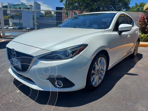 Mazda 3 Sedan s Grand Touring Aut usado (2016) color Blanco Perla precio $255,000