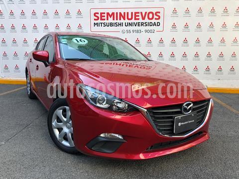 foto Mazda 3 Sedán s usado (2016) color Rojo precio $185,000