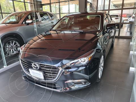 Mazda 3 Sedan s Grand Touring Aut usado (2018) color Negro precio $298,000
