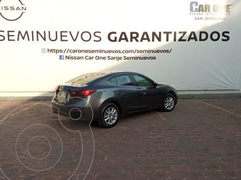 Mazda 3 Sedan s usado (2017) color Gris Titanio precio $244,900