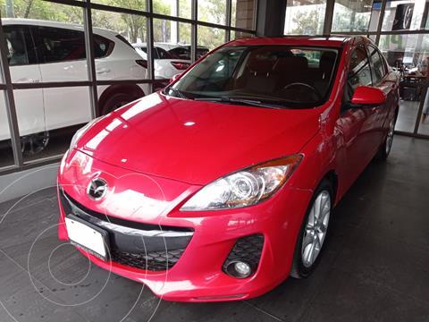 Mazda 3 Sedan s usado (2012) color Rojo Fugaz precio $130,000