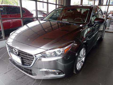 Mazda 3 Sedan s Aut usado (2017) color Gris Meteoro precio $260,000