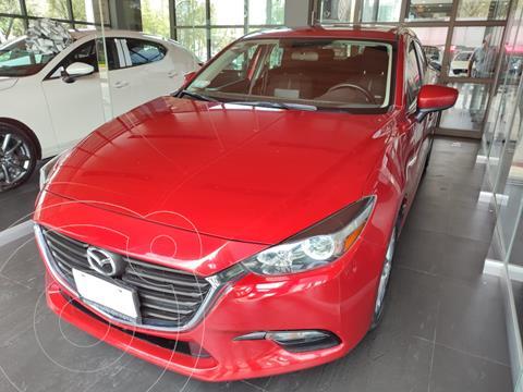 Mazda 3 Sedan i Touring usado (2017) color Rojo precio $235,000