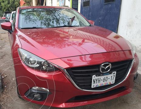 Mazda 3 Sedan s Aut usado (2014) color Rojo precio $170,000