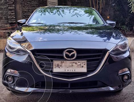 Mazda 3 Sport 2.0 V usado (2015) color Negro financiado en cuotas(anticipo $3.700.000)