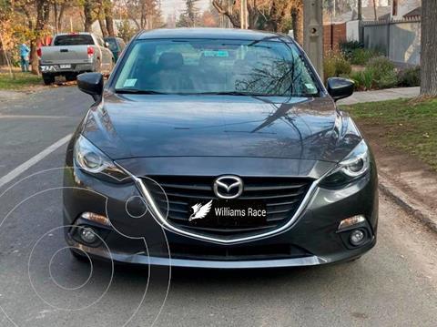Mazda 3 1.6L S  usado (2016) color Gris Titanio precio $13.290.000