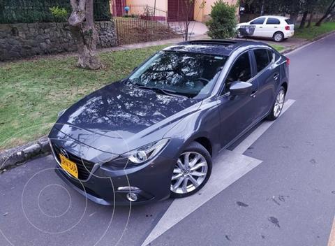 Mazda 3 Grand Touring Aut  usado (2015) color Gris precio $58.500.000