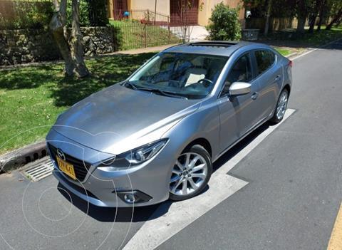 Mazda 3 Grand Touring Aut  usado (2015) color Plata precio $58.500.000