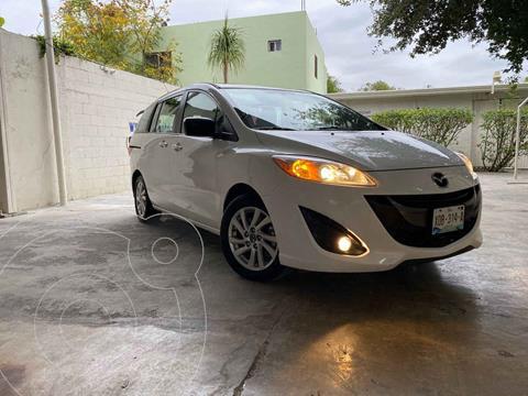 Mazda 5 2.5L Sport usado (2015) color Blanco precio $155,000