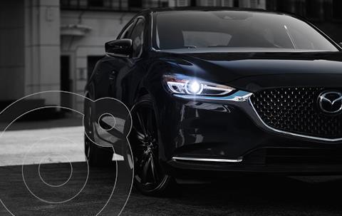 Mazda 6 Carbon Edition nuevo color Negro financiado en mensualidades(enganche $165,570 mensualidades desde $7,973)