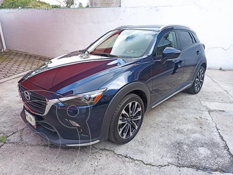 Mazda CX-3 i Grand Touring usado (2019) color Azul Marino financiado en mensualidades(enganche $96,738 mensualidades desde $7,966)