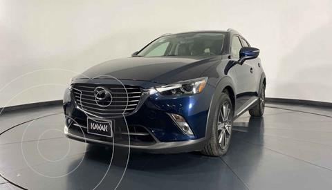 Mazda CX-3 i Grand Touring usado (2017) color Azul precio $299,999