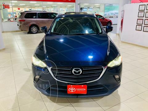 Mazda CX-3 i Grand Touring usado (2019) color Azul Marino financiado en mensualidades(enganche $114,167 mensualidades desde $7,713)