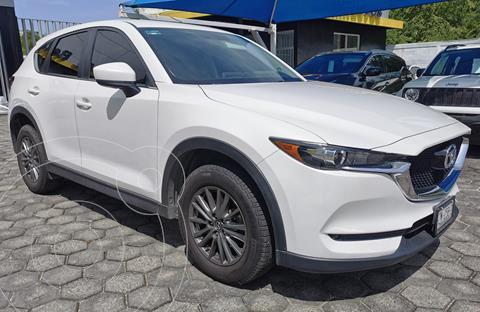 Mazda CX-5 2.0L i Sport usado (2018) color Blanco precio $370,000