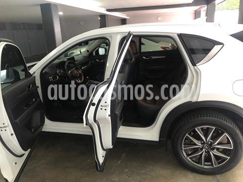 Mazda CX-5 2.5L S Grand Touring 4x2 usado (2018) color Blanco Perla precio $370,000