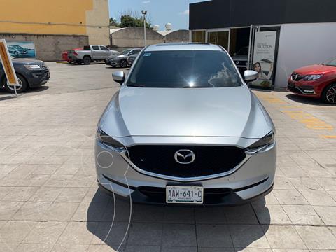 Mazda CX-5 5 pts. s Grand Touring, 2.5l, TA, piel, QC, f. n usado (2020) color Plata precio $510,000