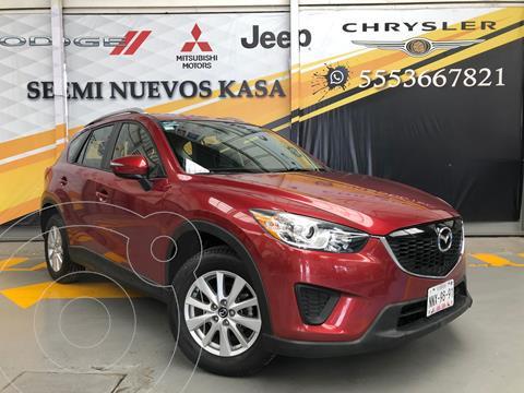 Mazda CX-5 2.0L i usado (2015) color Rojo precio $250,000