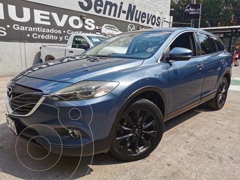 Mazda CX-9 Grand Touring usado (2015) color Azul Tormenta precio $265,000