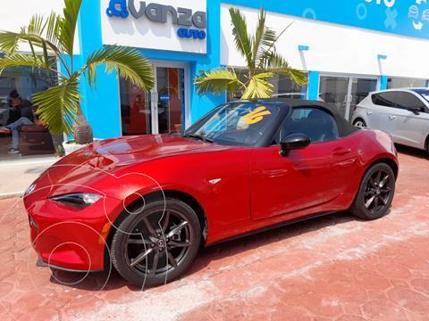 Mazda MX-5 Sport usado (2016) color Rojo precio $285,000