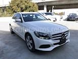 Foto venta Auto usado Mercedes Benz Clase C 180 Aut (2015) color Blanco Calcita   precio $315,000