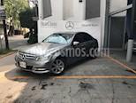 Foto venta Auto usado Mercedes Benz Clase C 180 CGI Aut (2014) color Gris precio $285,000