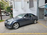 Foto venta Auto usado Mercedes Benz Clase C 200 CGI Exclusive Aut (2013) color Azul precio $265,000